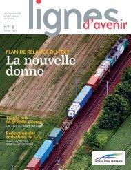 magazine Lignes d'avenir n° 8 - RFF
