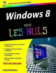 Windows 8 Pour les Nuls - Ebooks-numeriques.fr