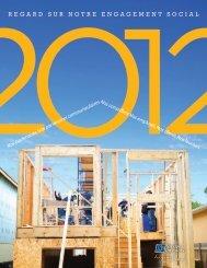 Regard sur notre engagement social 2012 - Investors Group