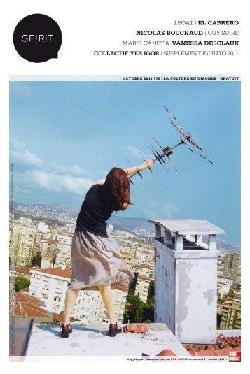 I.BOAT | EL CABRERO NICOLAS BOUCHAUD | GUY SUIRE ... - Spirit