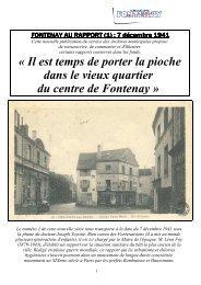 Rapport 1 Docteur YOYOTTE - Fontenay-aux-Roses