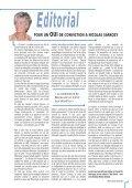 LE CNI avec Nicolas Sarkozy - Centre National des Indépendants et ... - Page 3