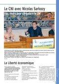 LE CNI avec Nicolas Sarkozy - Centre National des Indépendants et ... - Page 7