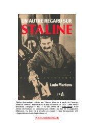 Un autre regard sur Staline - communisme-bolchevisme