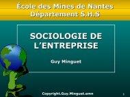 L'approche identitaire - Ecole des mines de Nantes