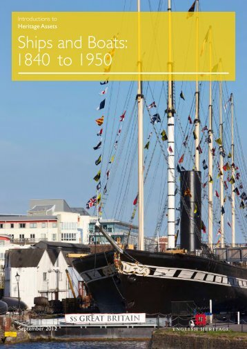 Ships and Boats: 1840 to 1950 - English Heritage