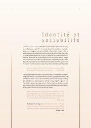 Identité et sociabilité - Média Animation asbl