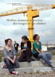 Médias, jeunesse et société - Francas des Pays de la Loire