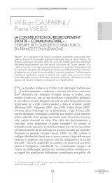 William GASPARINI / Pierre WEISS