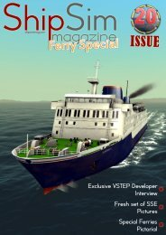 Special Ferries Pictorial Fresh set of SSE Pictures ... - ShipSim.com