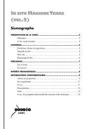 In situ Machine Terre (vol. 2) - Sismographe - Lesite.tv pour tous