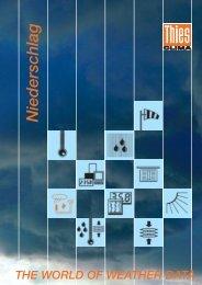 THE WORLD OF WEATHER DATA Das ... - Zefa-Laborservice