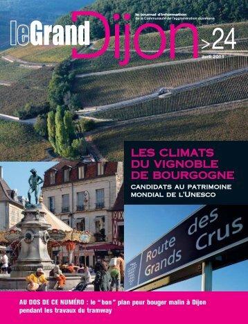 Les climats du vignoble de Bourgogne candidats au ... - le Grand Dijon