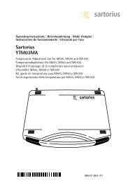 Sartorius YTM03MA - Windaus