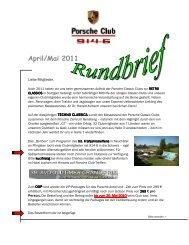 April/Mai 2011 - Porsche 914-6 Club e.V.