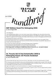 OGP Oldtimer Grand Prix Nürburgring 2006 Int. Porsche 914-6 Club ...