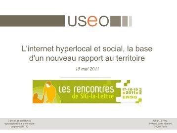 Charte Graphique USEO - Rencontres SIG La Lettre