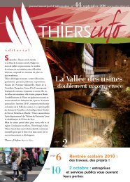 Thiers Info n° 44 septembre 2010