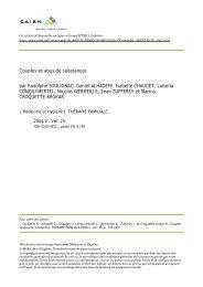 Couples et abus de substances - Drogues info service : information ...