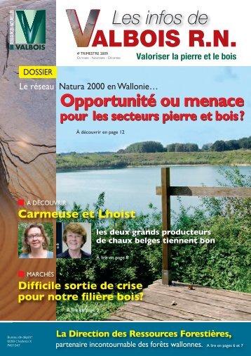 Télécharger les Infos de Valbois RN – 4 e trimestre 2009 - RND