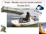 Jean Broch - Génie Maritime - ENSTA ParisTech - Ensta