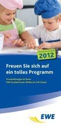 EWE Veranstaltungsplan Okt.-Dez. 2012 - A10 Center