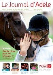 Quelle place pour les animaux en institution ? - Association Adèle ...