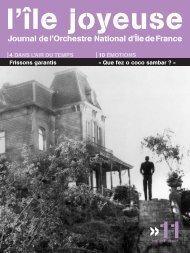 Téléchargez ici l'édition n° 11 (1098 Ko) - Orchestre national d'Ile-de ...