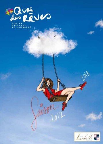 Brochure 2012/2013 - Quai des rêves