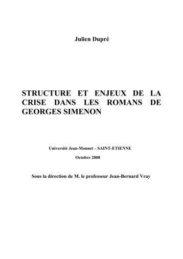 Mémoire sur SIMENON 2