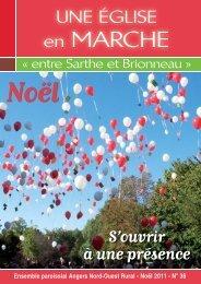 Bulletin n° 36 « Entre Sarthe et Brionneau - Diocèse d'Angers