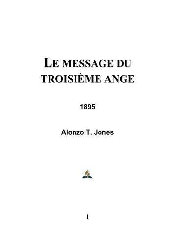 LE MESSAGE DU TROISIÈME ANGE - Le site de Richard Lemay