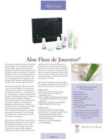Aloe Fleur de Jouvence® - Forever Living Products