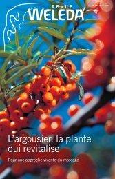 L'argousier, la plante qui revitalise - Weleda