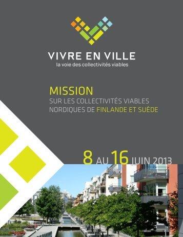 Programme de la mission - Ordre des architectes du Québec