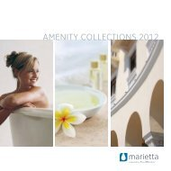 amenity collections 2012 - RTI Hotel Supply