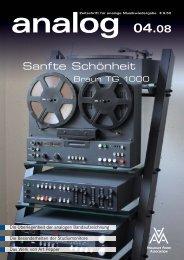 Sanfte Schönheit - Analogue Audio Association