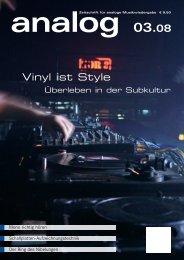 Vinyl ist Style - Analogue Audio Association
