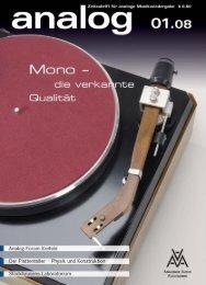 sonderpreis für aaa-mitglieder - Analogue Audio Association