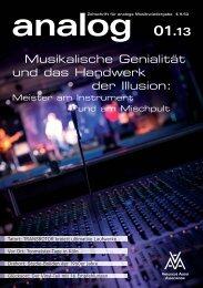 Musikalische Genialität und das Handwerk der Illusion: - Analogue ...