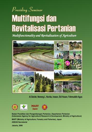 Multifungsi dan Revitalisasi Pertanian Multifungsi dan Revitalisasi ...