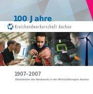 Handwerk - Kreishandwerkerschaft Aachen