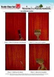 initiation à la peinture décorative - Ecole Chez Soi