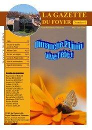 la Gazette n°6_mai_juin.09.pub - Mairie de Ramonville Saint-Agne