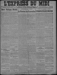 26 janvier 1922 - Bibliothèque de Toulouse