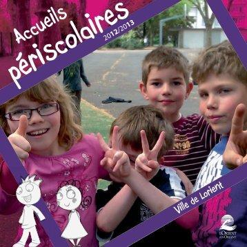Télécharger le guide des accueils périscolaires 2012-2013 - Lorient