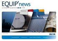 La newsletter Equipements – N° 8 - Equip'news