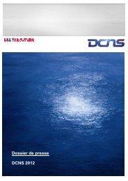 Dossier de presse DCNS 2012
