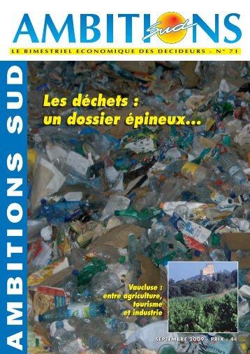 Les déchets - Michel FUILLET