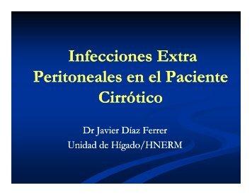 Infecciones Extra Infecciones Extra Peritoneales en el ... - PeruGastro
